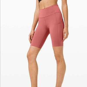 """Lululemon Fast and Free Short 10"""" in Cherry Tint"""